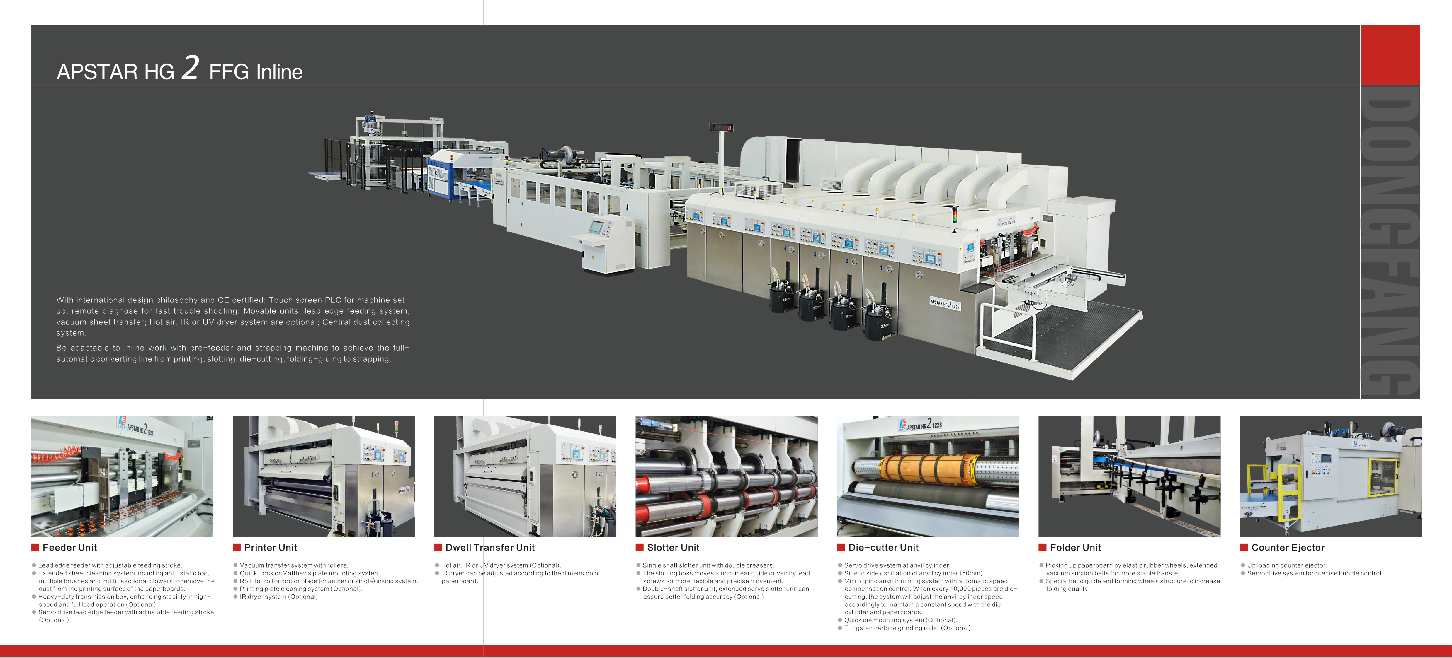 Learn more about the Apstar HG2 Flexo Folder Gluer Inline in the Dong Fang brochure.