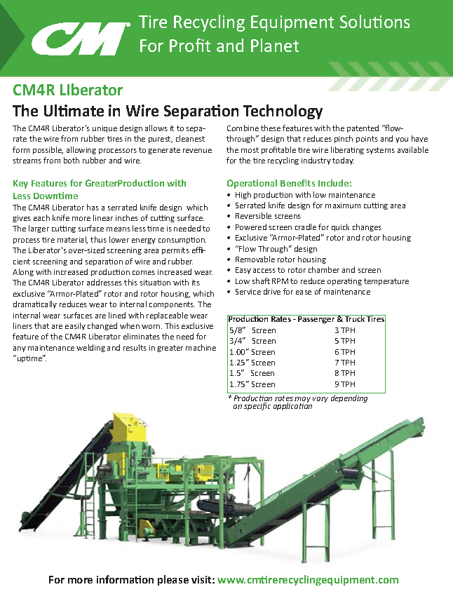 Learn more by viewing the CM4R Liberator Brochure.