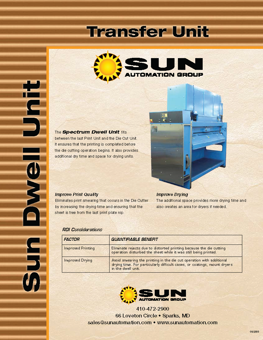 Learn more about Sun Automation's Dwell Unit in their brochure.