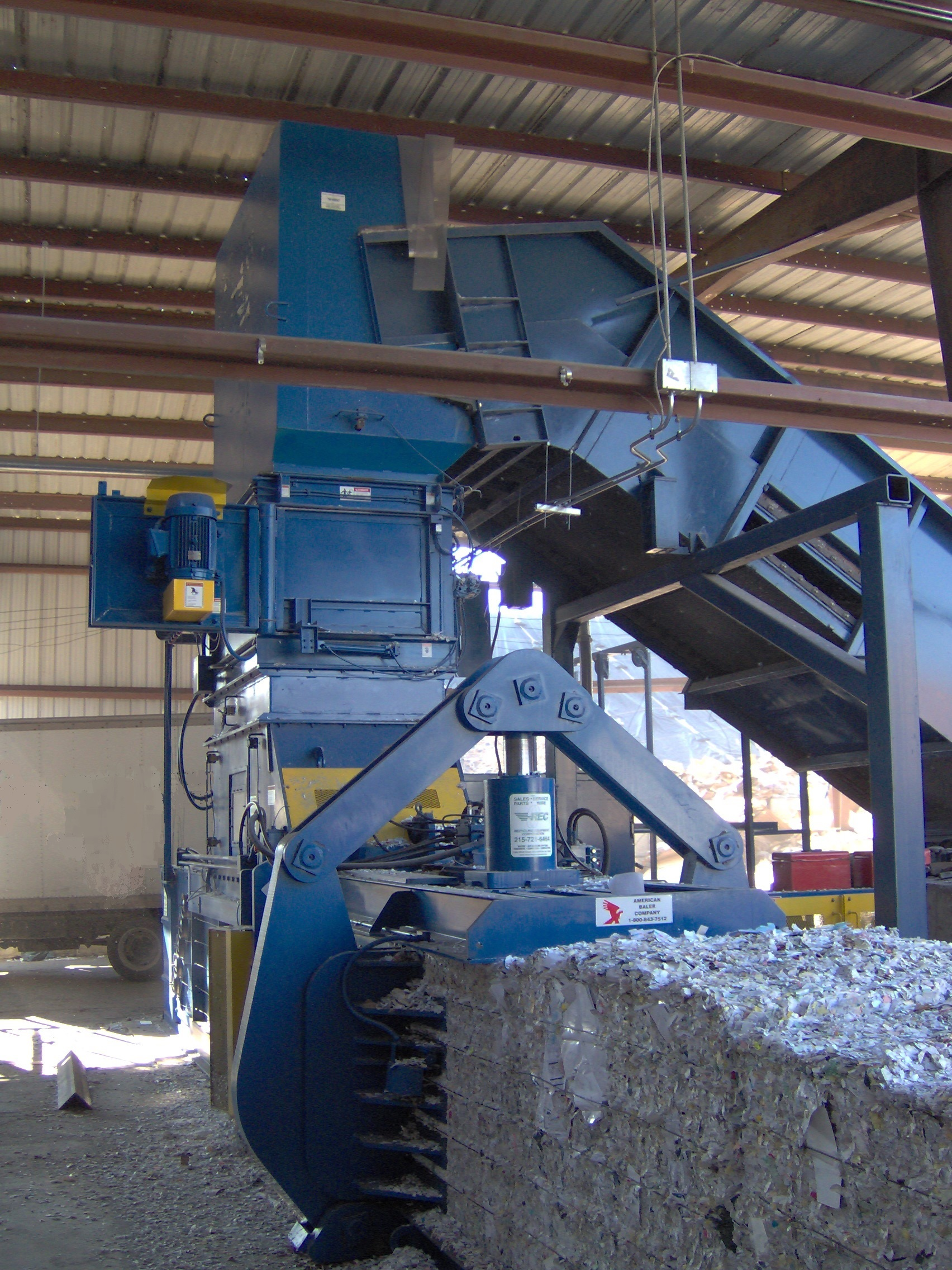 Shown is Model 8543HS Baler