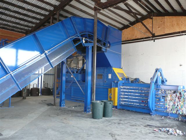 Shown is Model 8043HS Baler