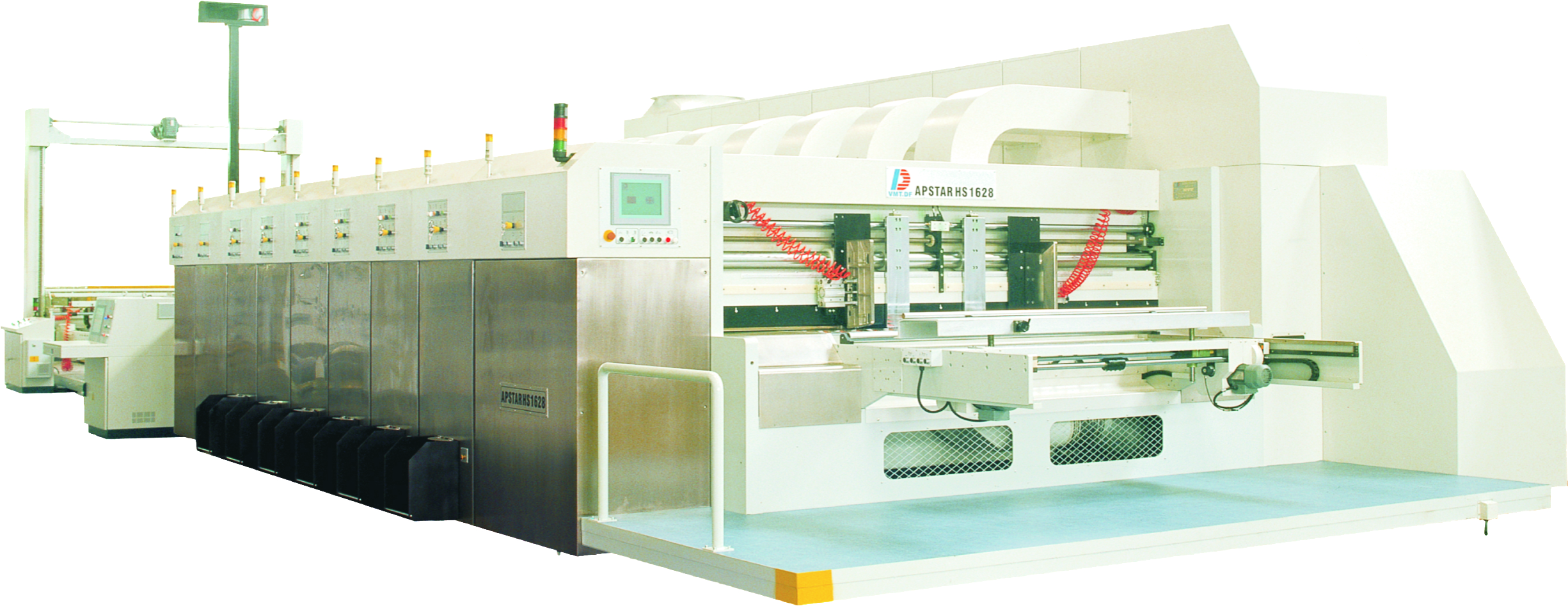 Dong Fang Apstar HS 1628 Flexo Printer Die Cutter