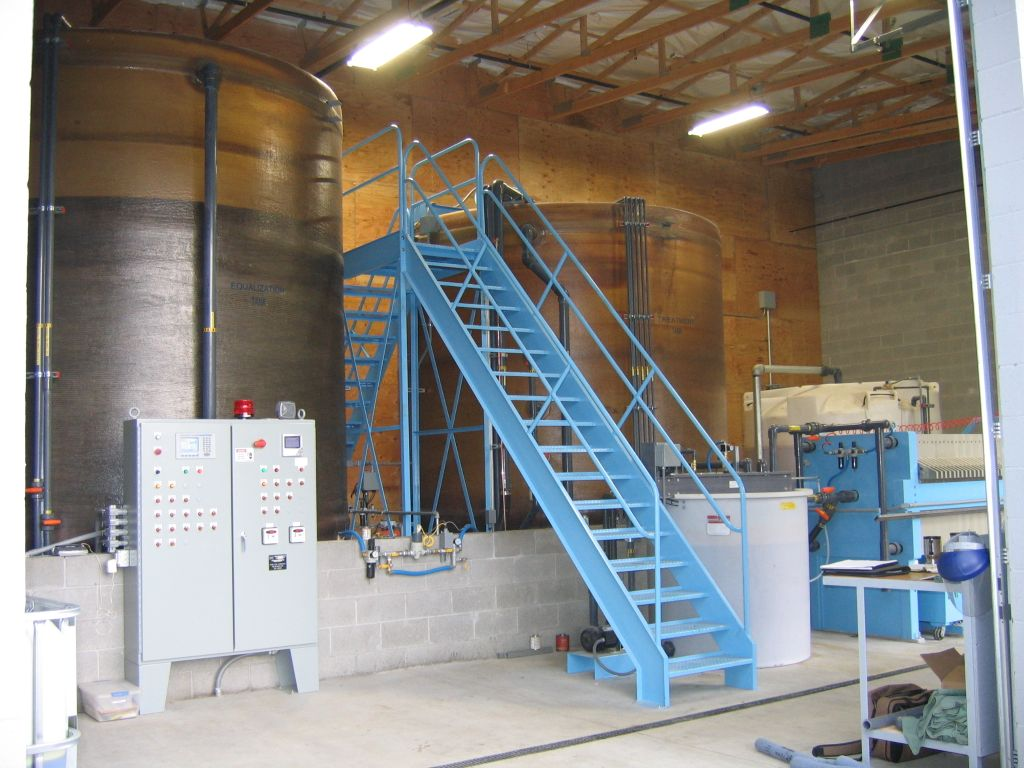 Beckart Wastewater Management Batch Filter Press System