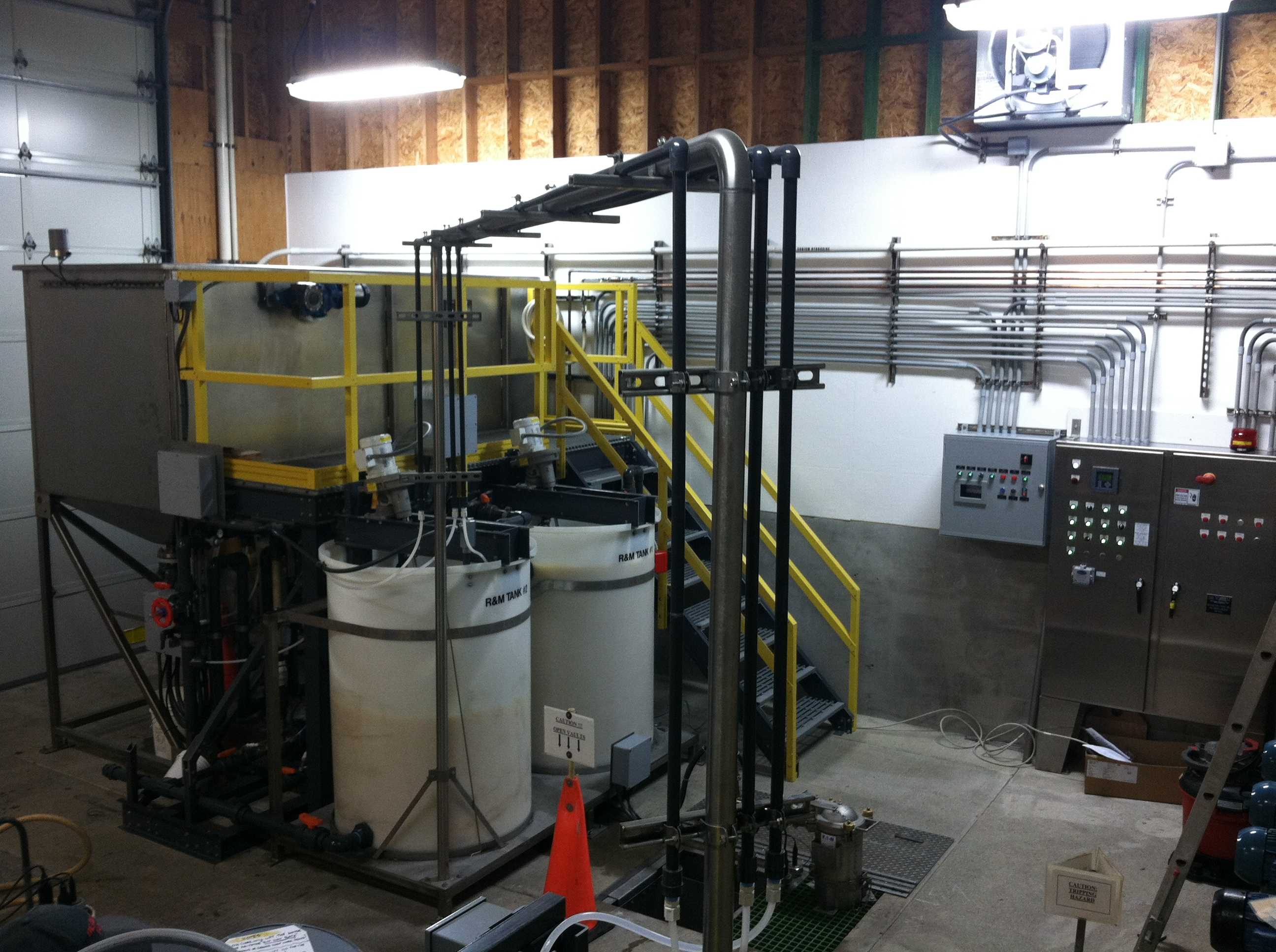 Beckart Continuous Flotation Wastewater Treatment System