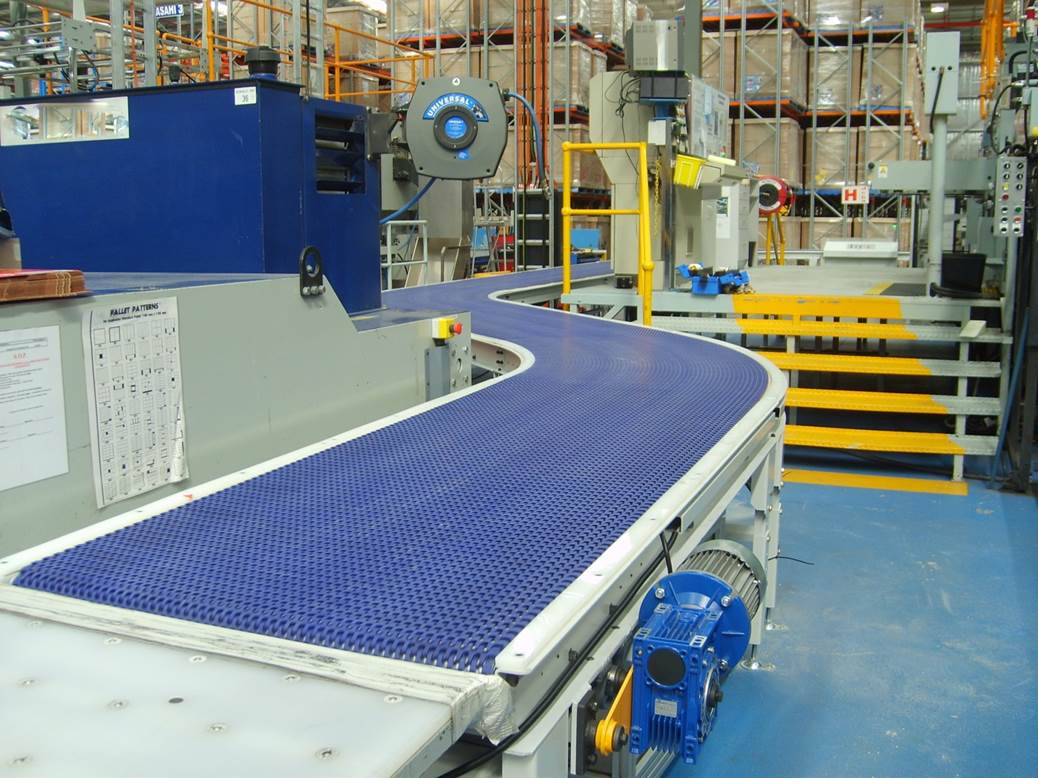WSA Bundle Conveyor - Plastic Curve