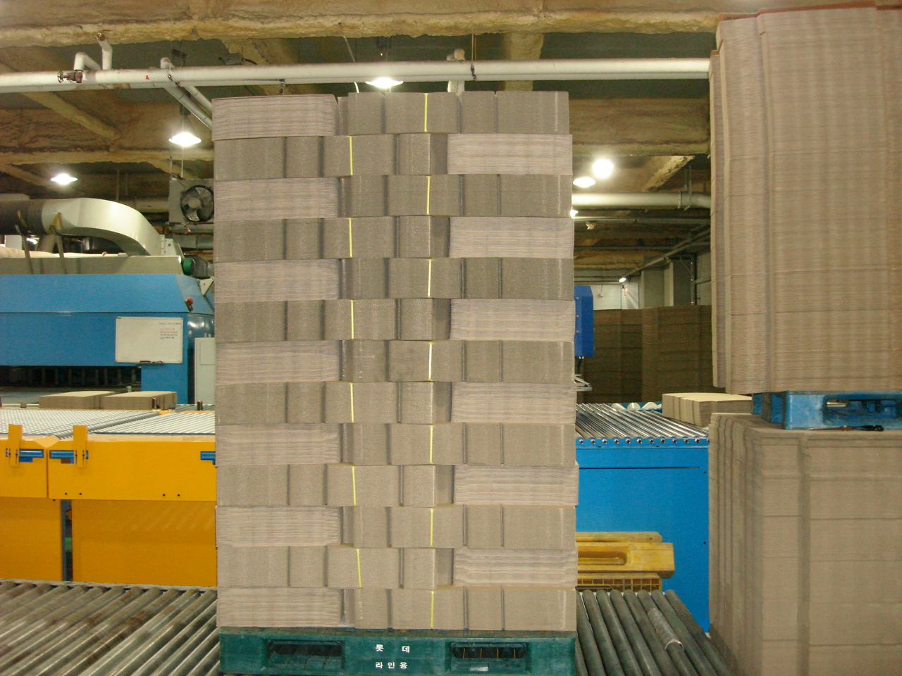 WSA Fully Automatic Palletizer