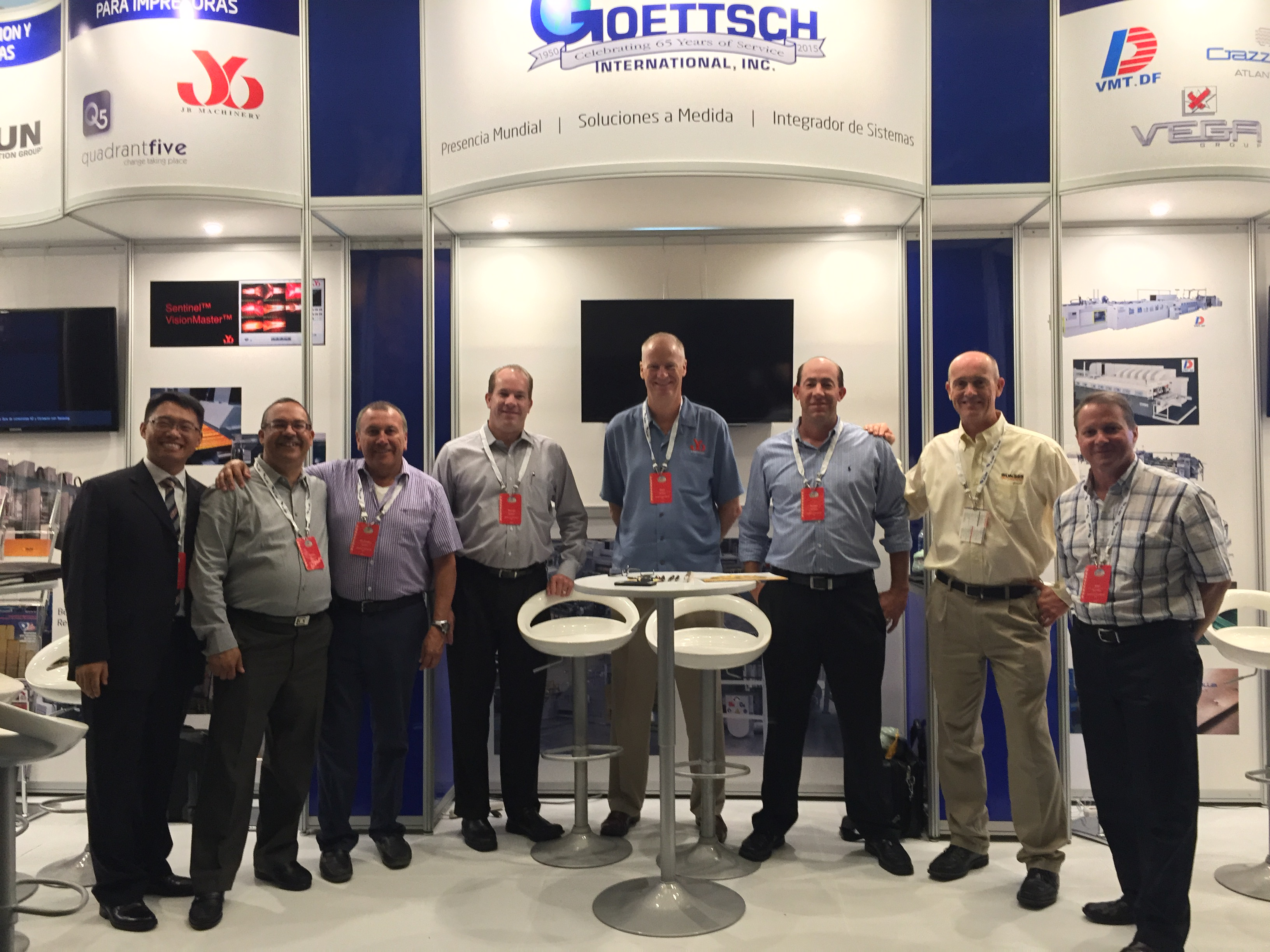 Team Goettsch and Supplier Reps. at ACCCSA 2015 in Punta Cana