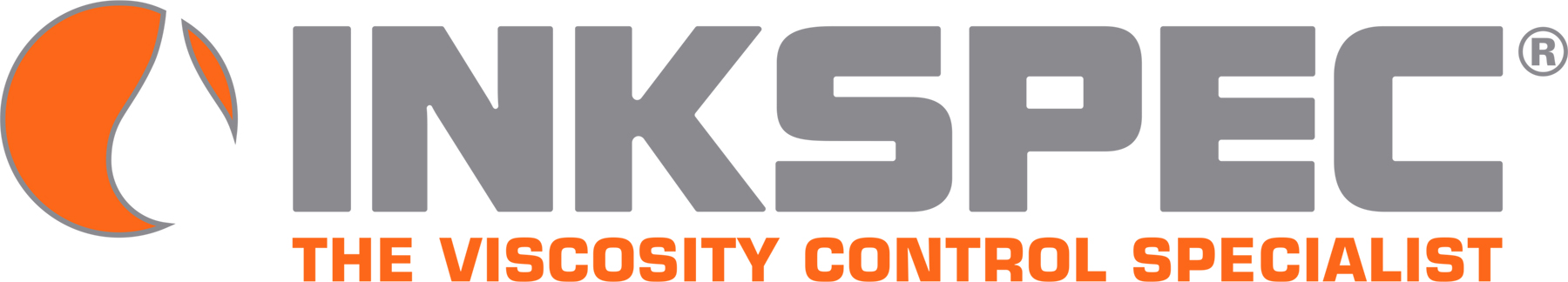 InkSpec Logo - The Viscosity Control Specialist