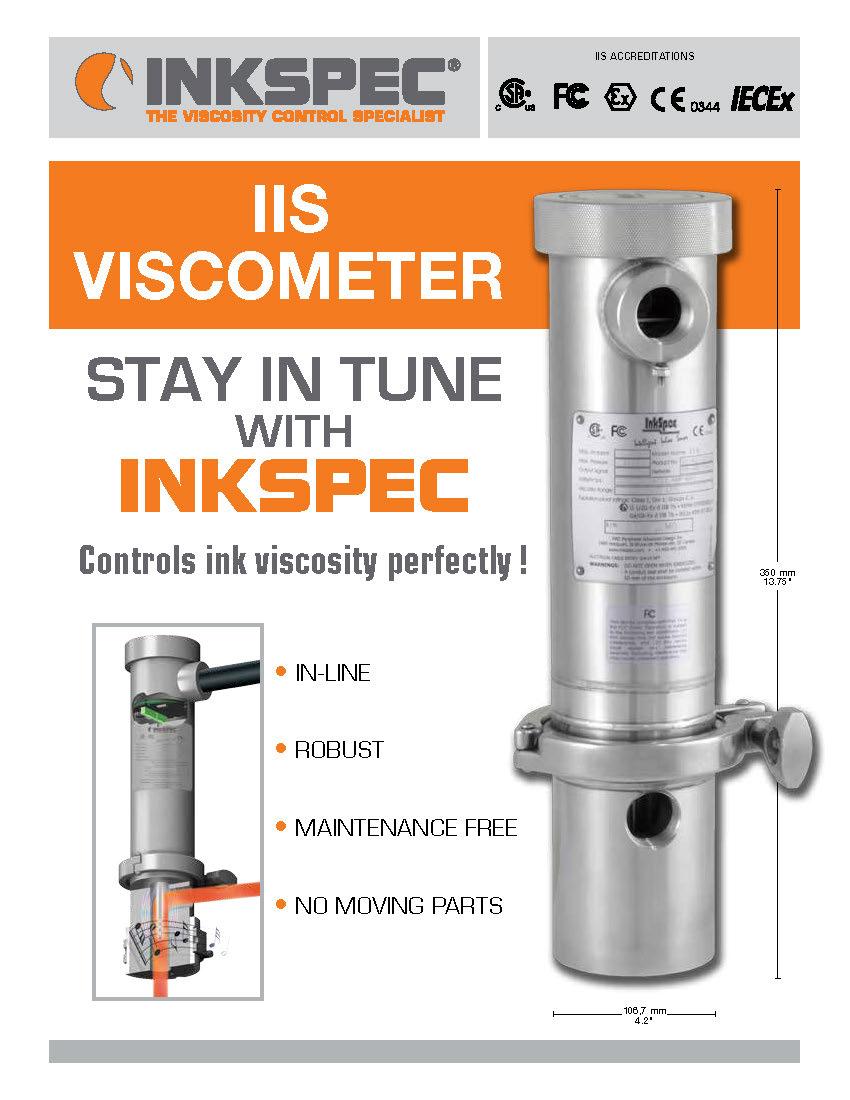 InkSpec IIS Viscometer Brochure