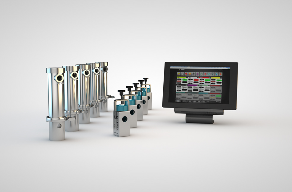 Multi Station Control with Touch Screen