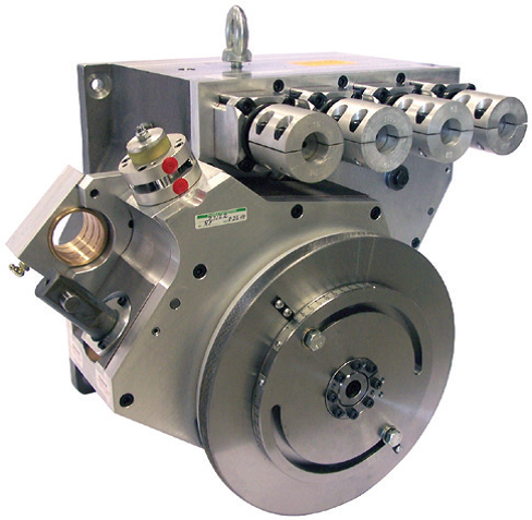 Lead Edge Feeder Transmission