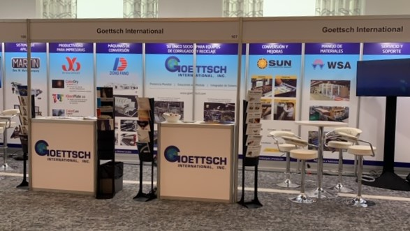 ACCCSA 2019, Goettsch International Booth
