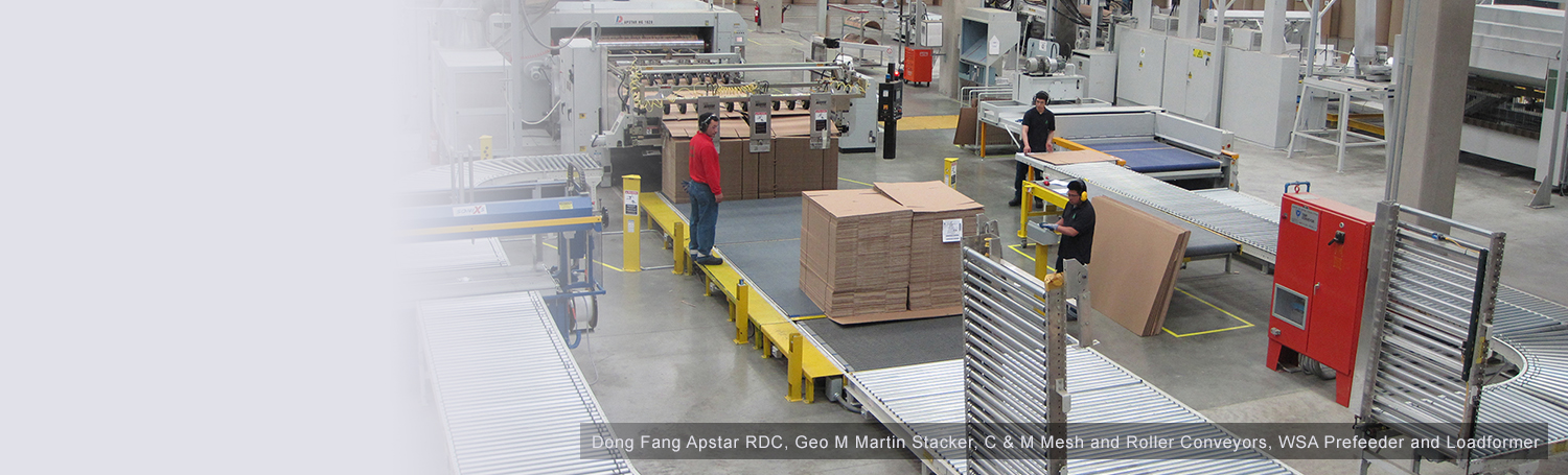 Dong Fang Apstar RDC, Geo M Martin Stacker, C & M Mesh and Roller Conveyors, WSA Prefeeder and Loadformer