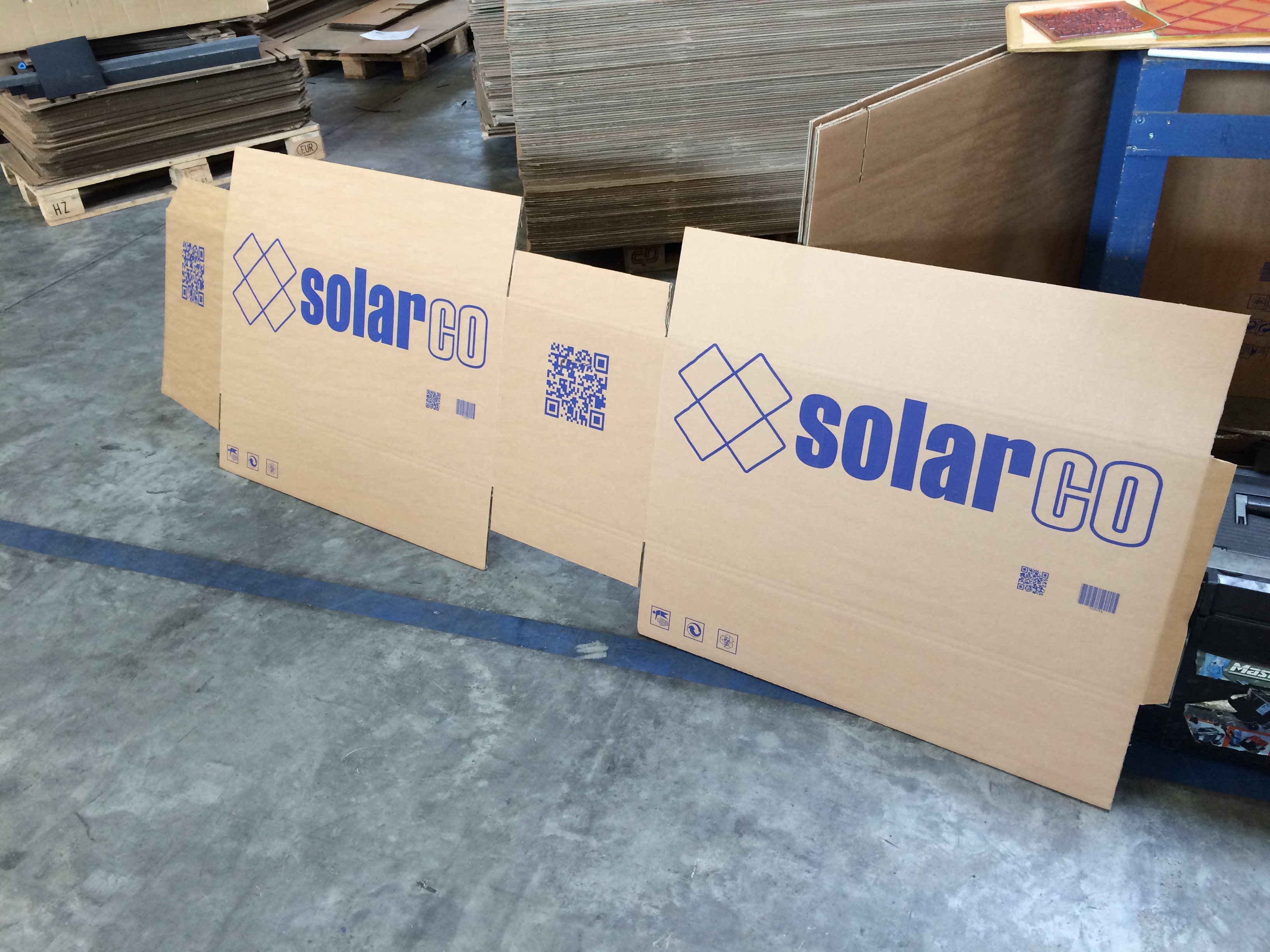 Solarco Printed Box Sample