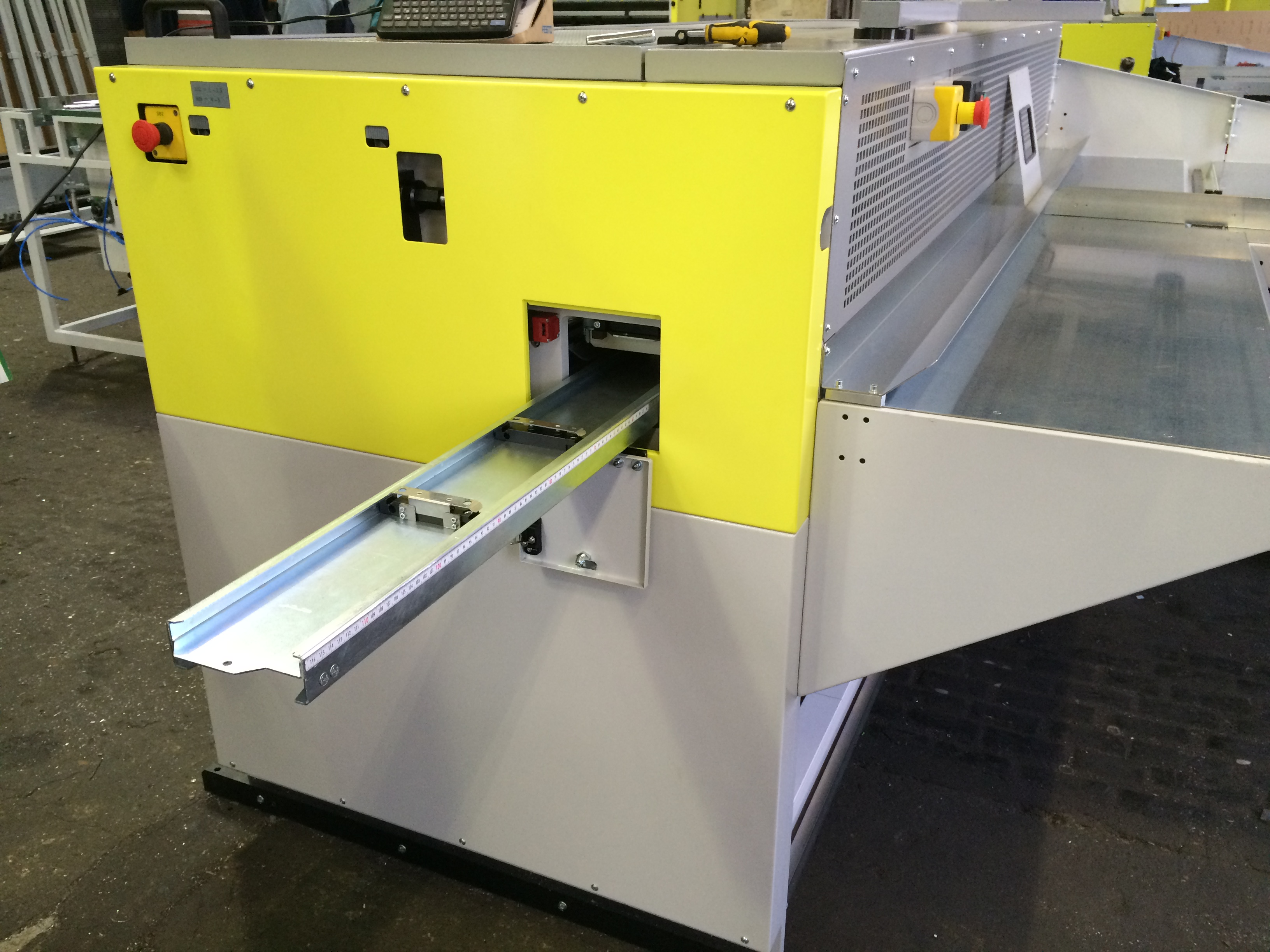 Solarco ECOMATIC - Addition of Die-Cut Unit