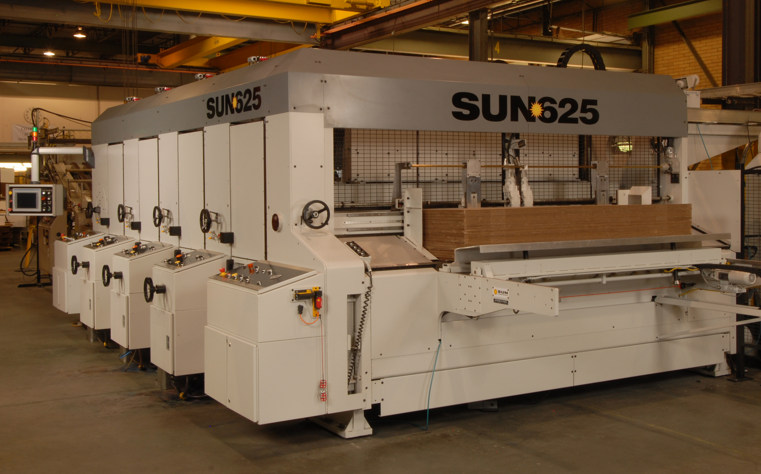 Sun Automation's SUN625 Rotary Die Cutter