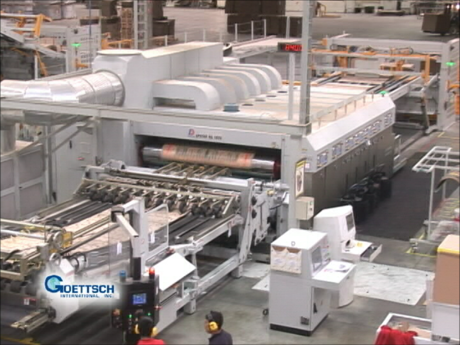 Watch the entire production line in action!