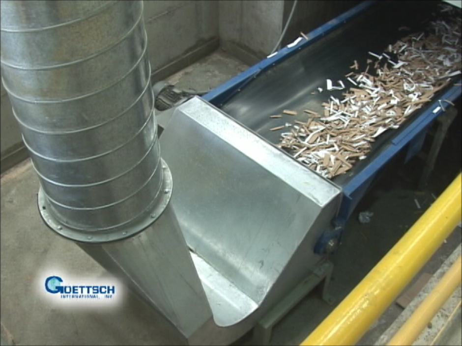 Watch the entire recycling / scrap system in action!